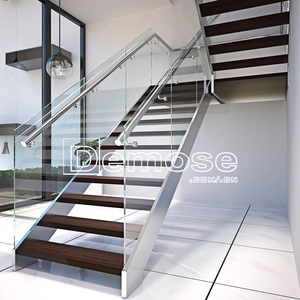 Luxury Movable Straight Stairs