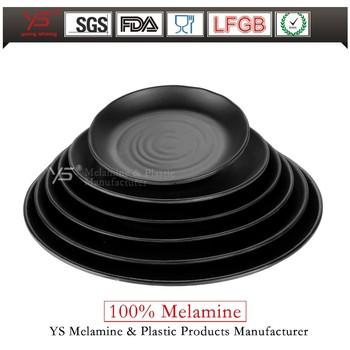 Top-level latest design 11\u0026quot;solid matte black dinner plateblack ceramic plates  sc 1 st  Alibaba & Top-level Latest Design 11\