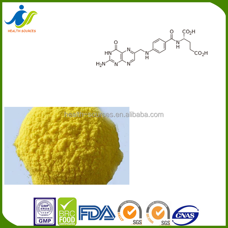 Best factory price raw material Folic acid