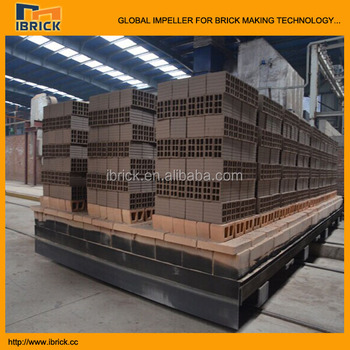 brick oven red red brick production line machine automatic clay brick oven firing