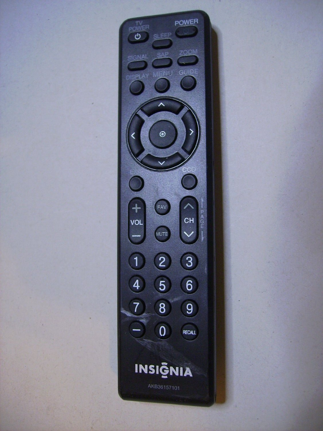 LG/Insignia TV Remote Replacement Insignia AKB36157101 For Insignia NSDXA1