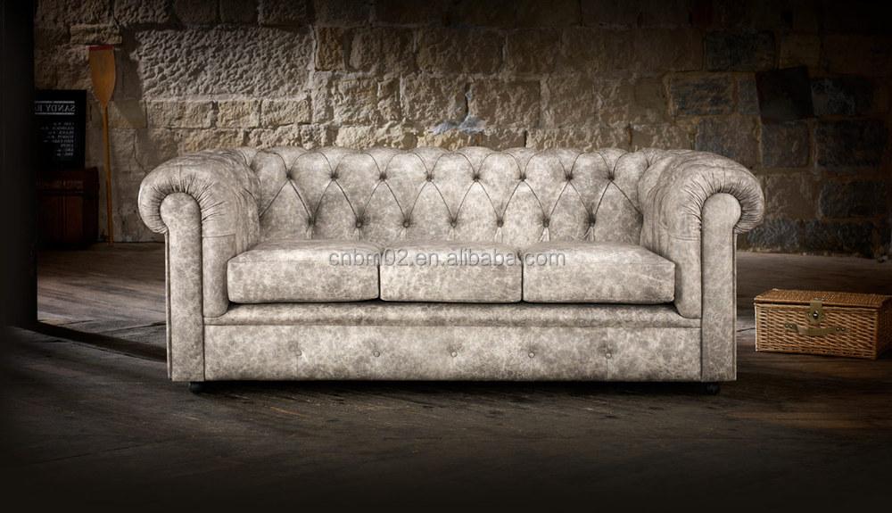 Inglese Standard Winchester Chesterfield Divani In Pelle Set 1+2+3 O 1+1+3  O Personalizzati Kristyna Morbida Crema Cuoio Rigenerato Divano - Buy ...