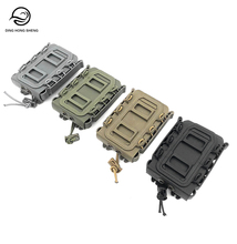 Tactical 5,56 & 7,62 Fastmag Gürtel Clip Kunststoff Molle Magazin Pouch Airsoft 9mm Pistole Mag Patrone Halter Ammo Fall