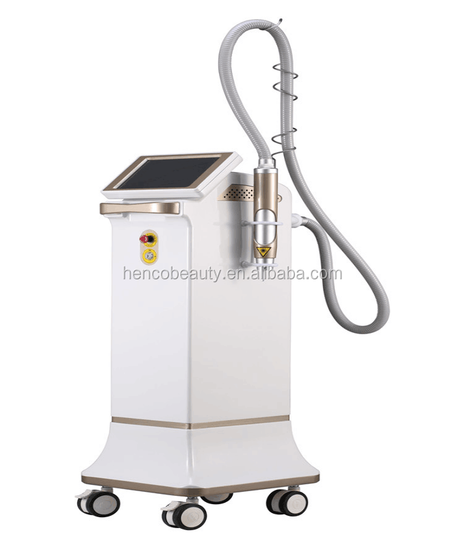 0.7 - 8mm adjustable q switched nd yag laser spot tattoo removal with red diode laser