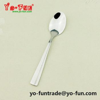Jay014 Diy Customized Logo Stainless Steel 18 0 Mini Small Coffee Spoon