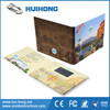 Customized Commercial Advertising Video Intercom Brochure with Button CMYK Printing
