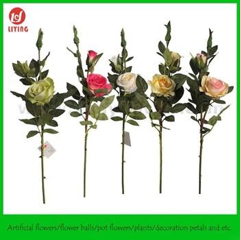 235 silk vision flower wholesalesilk rose branch flowerlarge 235quot silk vision flower wholesalesilk rose branch flowerlarge artificial flower branch mightylinksfo