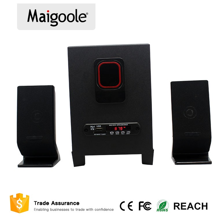Amazon high quality 2.1 dj speaker with multimedia speaker system