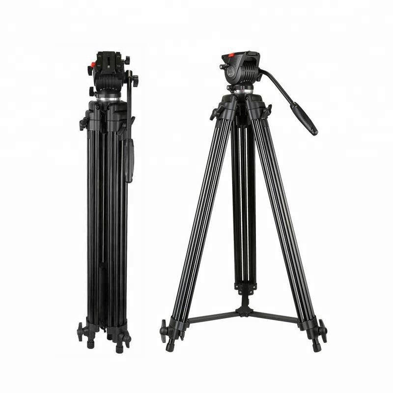 Professional Fluid Head Heavy Duty Video Tripod