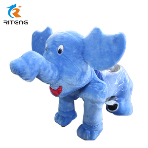 High quality coin operated kid electric rides stuffed animal toys kiddie ride