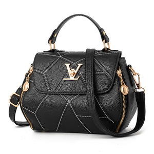 Factory wholesale V word square bag handbags women handbags 2018