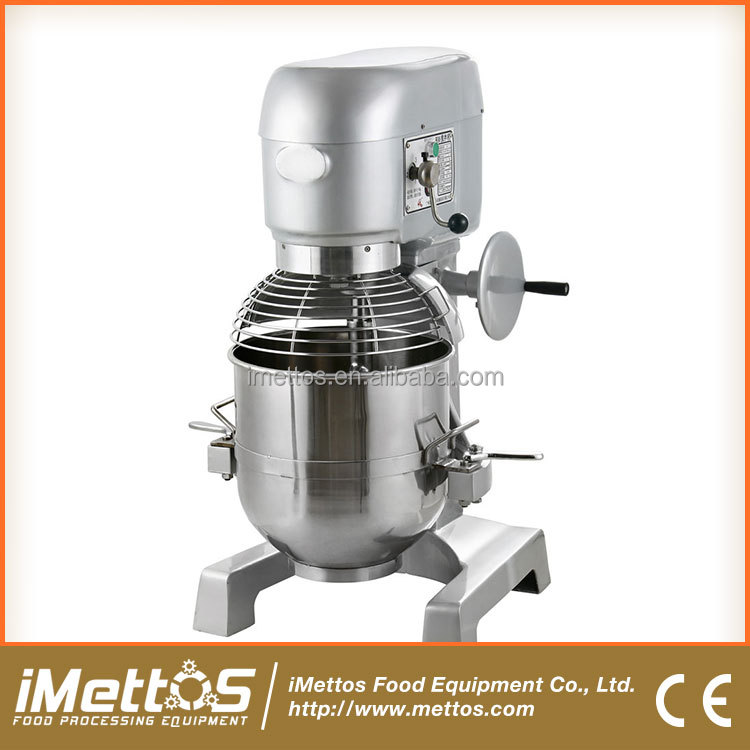 3-Speed CE Listed Good Mixing Effect Planetary Mixer Machine Dough Kneading Machine