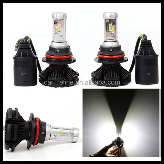 Newest led automoive parts lamp automobiles motorcycles X3 9004 6000K 50W 8000LM led head lamp fog light for bmw /audi/lexus