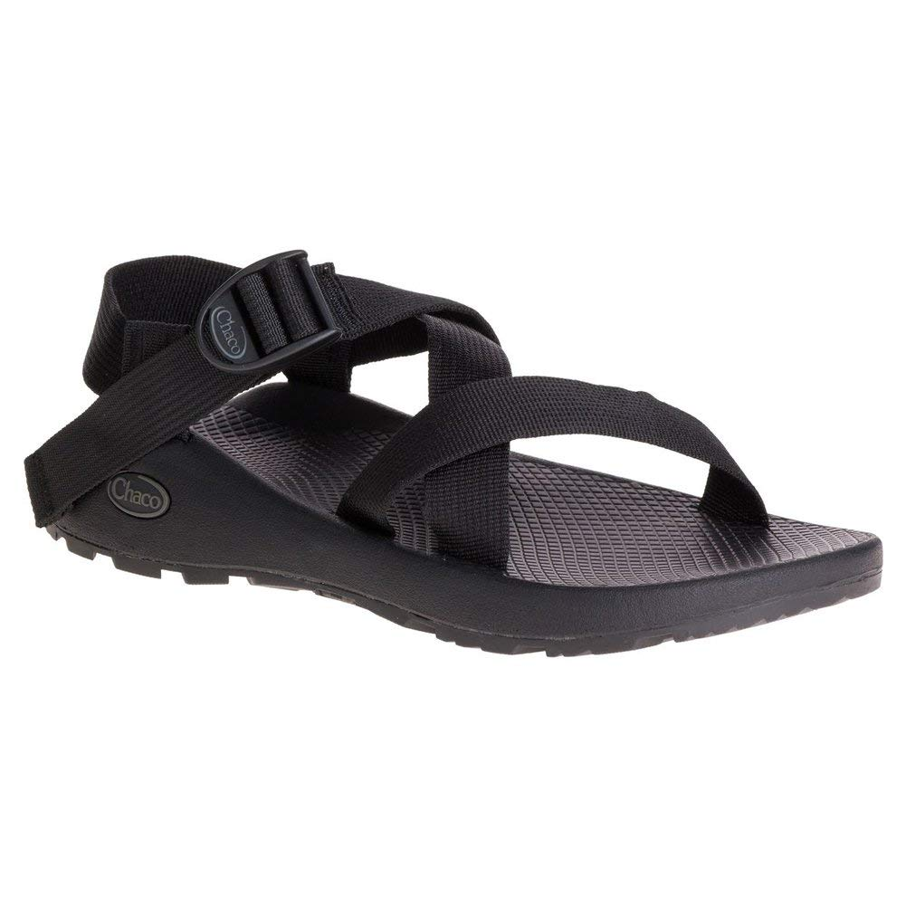 689fb938148c Get Quotations · New Chaco Z 1 Classic Black Mens Sandals