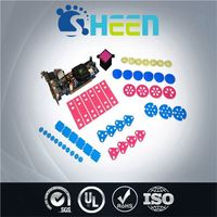 Convenient Installation Heat Conductive Rubber Soft Pad/Good Thermal For High Frequency Microprocessors