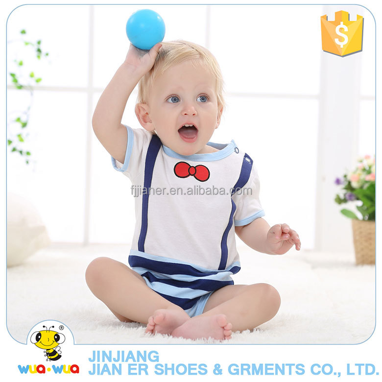 Fashionable 100% cotton comfortable baby romper body suit