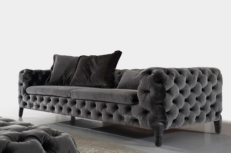 Sof de la tela moderna sof s de dise o italiano sof s - Sofas italianos diseno ...