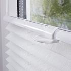 100% Polyester Fabric Pleated Blinds Plisse Window Shades