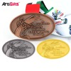 Custom Cheap Sport Medal Metal Gold Taekwondo Medals Wholesale