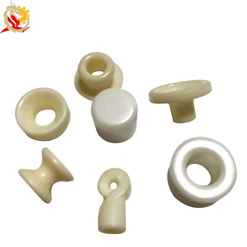 9.9 milímetros de Diâmetro Interno de Peças de Cerâmica de Alumina Ilhós de Cerâmica de Porcelana