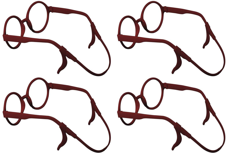 107a70ba04 SHINKODA Sports Sunglass Holder Strap and Ear Hook Sleeve Retainer Safety  Glasses Eyeglasses Cord String Eyewear