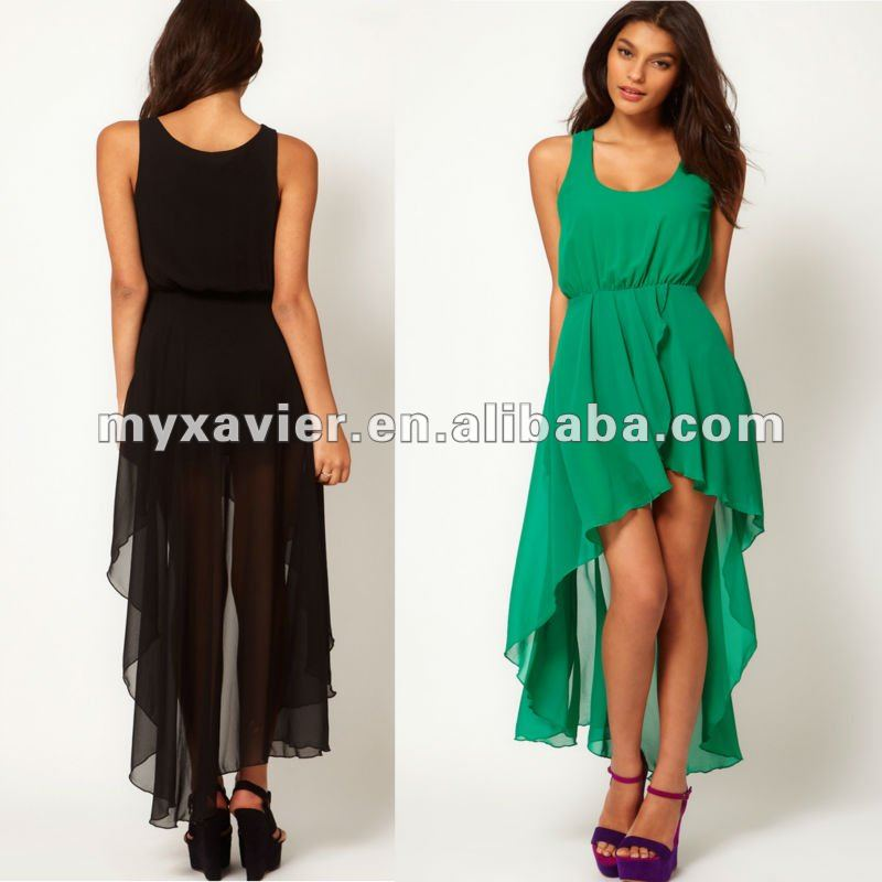 Short Front Long Back Dresses