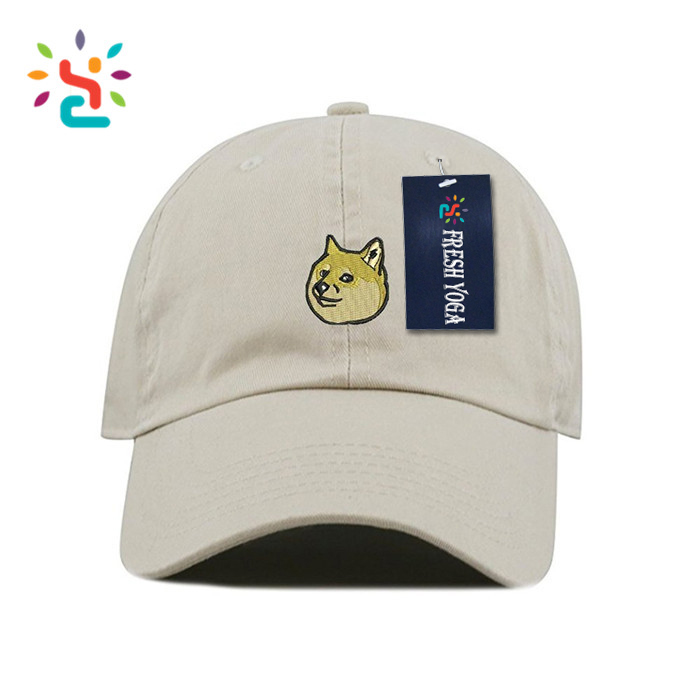 Personalized dog doge embroidered dad hat wide brim sports outdoor baseball  cap hats 390a3815b53