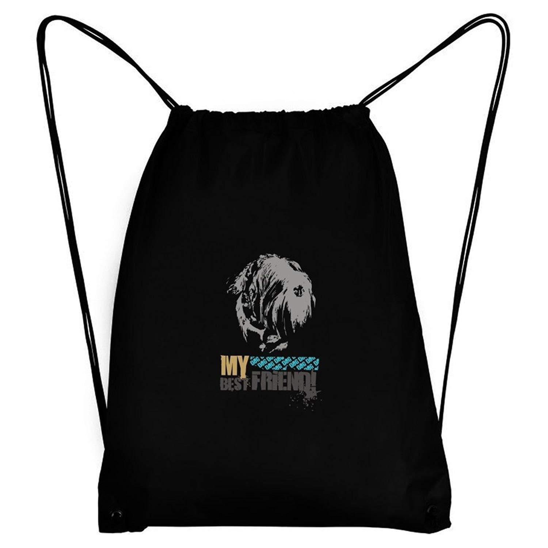 Teeburon Black Russian Terrier MY BEST FRIEND URBAN STYLE Sport Bag