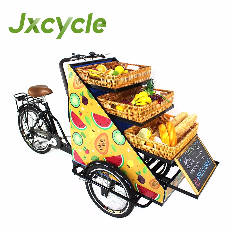 Manufacture Mobile 3 Wheel Electric Retail Traders Bikes For Vegetables  Fruits - Buy 3 Wheel Electric Retail Traders Bikes,Bikes For  Vegetables,Bikes