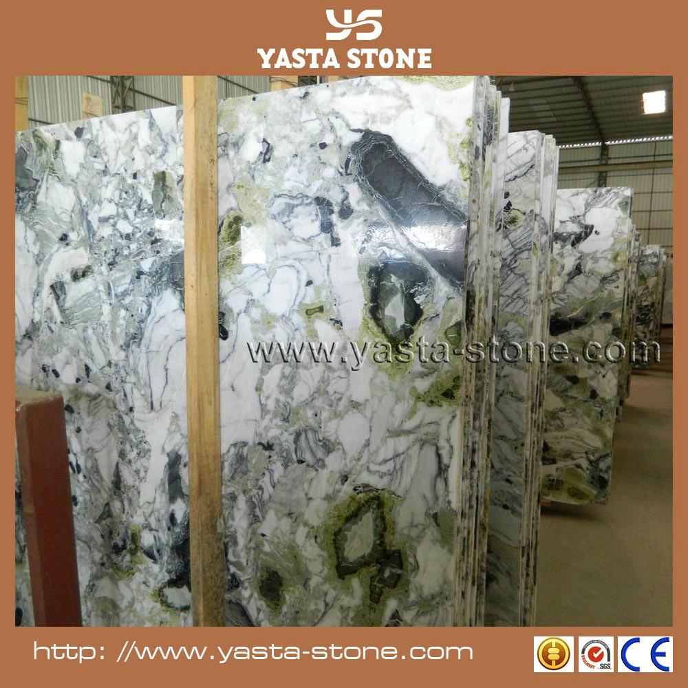 Groen marmer prijs per vierkante meter koud jade marmeren plaat ...