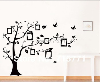 stammbaum wand decalremove wand kleben foto baum. Black Bedroom Furniture Sets. Home Design Ideas