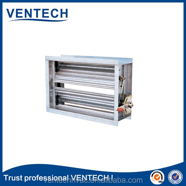 Leading manufacturer air louver electric motorized volume control damper