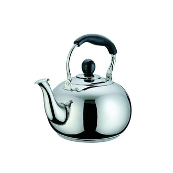 best buy round stainless steel kettle