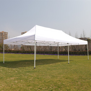 Custom printing or white color portable waterproof oxford material aluminum frame outdoor canopy awning 10 by 20 feet