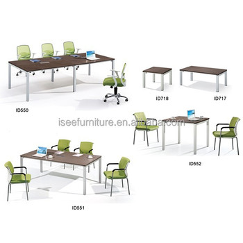European Office Furniture Small Square Office Meeting Table In - Square conference room table