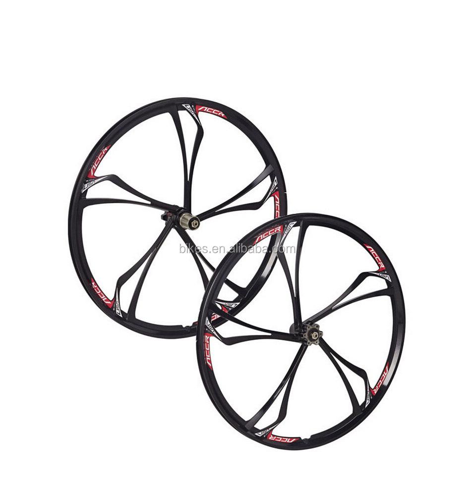 26 Zoll Felgen Magnesium-legierung Mtb Bike 5 Speichen Felgen Räder ...
