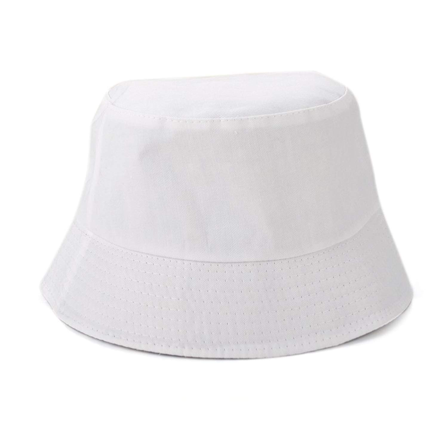 Opromo Blank Cotton Twill Bucket Hat Fishing Hunting Hat, One Size Fits All