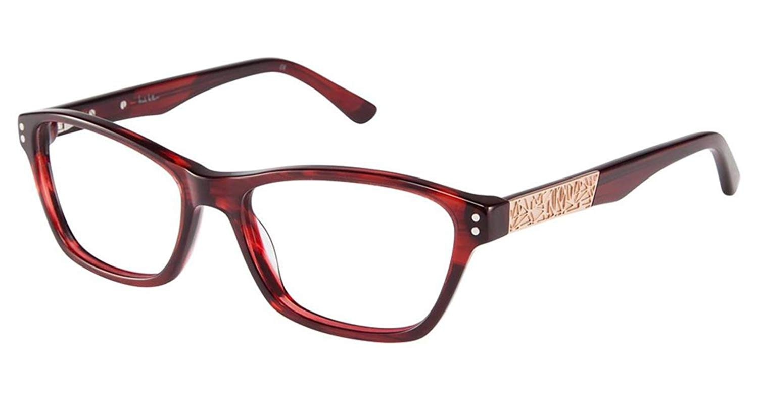 56419aaa18 Get Quotations · Nicole Miller Dyer Eyeglass Frames - Frame RED HORN