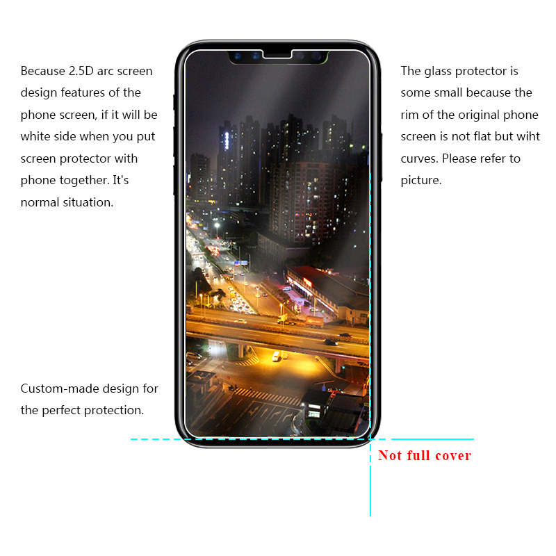 2019 New Arrival!2.5D Tempered Glass For iPhone 8,For iPhone 8 Glass Screen Protector