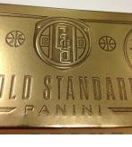 2012/13 Panini Gold Standard Basketball Cards Hobby Box (1 Pack/Box, 10 Cards/Pack, 4 Autographs and 1 Memorabilia Card, 1 Metal Card Per Box Plus Look for 14-Karat Gold Cards)