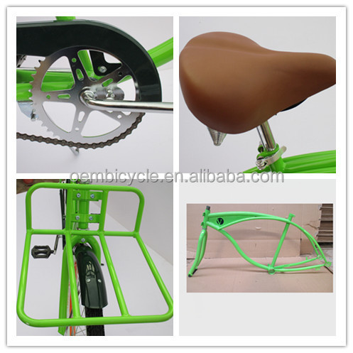 2015 26inch hot sell beach cruiser bicycle sand bike
