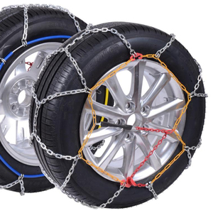 9mm KNS Car Snow Chains with TUV/GS and Onorm V5117