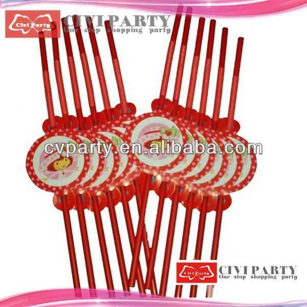 New style promotional decorative drinks party straw light bar accessory