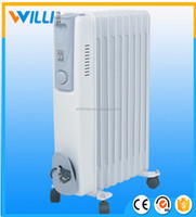 High efficiency powerful Oil Filled radiator heater for Dubai and EU