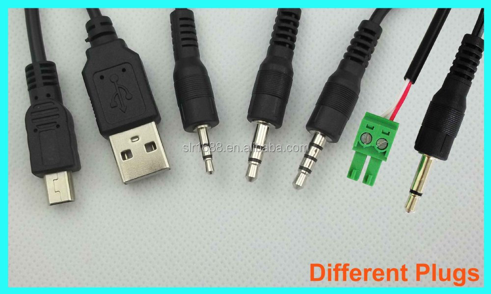 High Quality 1m Single-kopf IR Emitter Extender 3.5mm IR Transmitter Cable