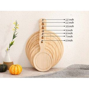 Bamboo Wood Tools household tray Cheesecake Serving Tray Cutting Board Pizza Plate