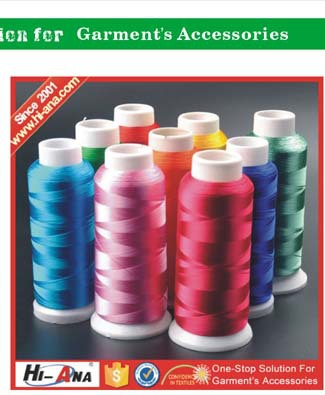 Know different market style Beautiful raw material sewing thread