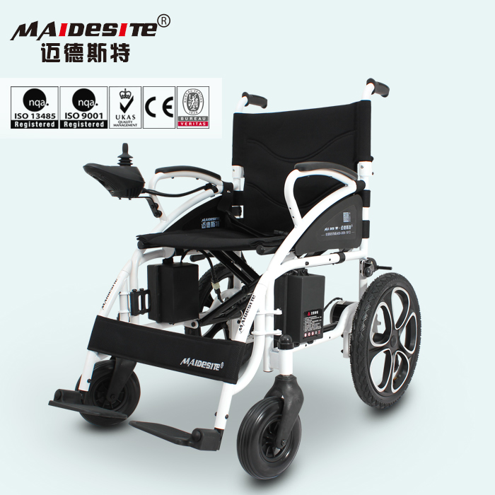 Folding handicapped electric lightweight wheelchairs for sale