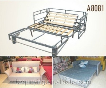 Retractable Adjustable Sofabed Frame Mechanism