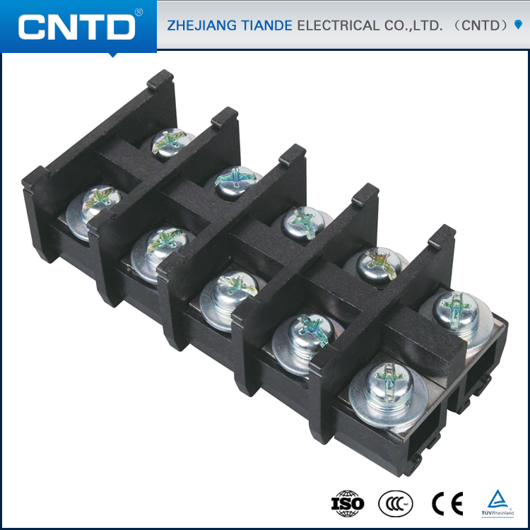 CNTD Latest Products In Market CBR Plate Type Screw Crmping Terminal Block Connector With Low Voltage